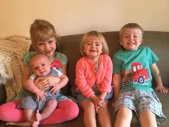 four kiddos